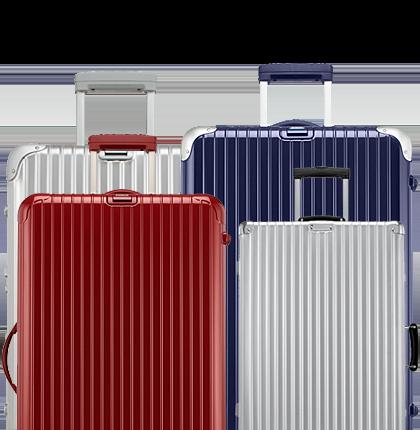 豊富なラインナップのスーツケースをご用意